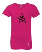 CHEER FOR A CURE GIRLS/LADIES TEE