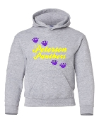 PAWS HOODED SWEATSHIRT