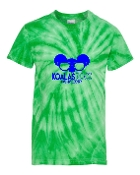 SUNGLASSES GREEN TIE-DYE