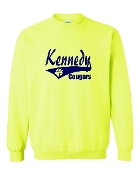 NEON TAIL CREW SWEATSHIRT