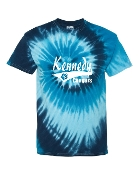TAIL BLUE TIDE TIE-DYE
