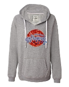 WW GREY V-NECK SWEATSHIRT