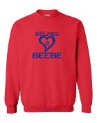 RED SELfies CREW SWEATSHIRT