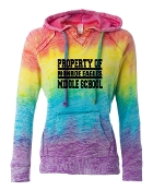 PROPERTY OF RAINBOW SWEATSHIRT