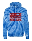 PROPERTY OF TIE-DYE SWEATSHIRT