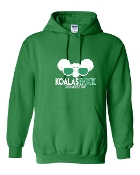 SUNGLASSES GREEN SWEATSHIRT