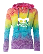 SUNGLASSES RAINBOW SWEATSHIRT