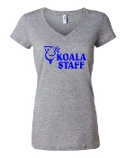 STAFF GREY LADIES V-NECK