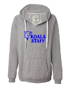 STAFF GREY V-NECK SWEATSHIRT