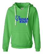 STAFF GREEN V-NECK SWEATSHIRT