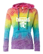 RAINBOW MV BURNOUT SWEATSHIRT