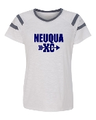 XC WHITE AUGUSTA FANATIC SHORT SLEEVE