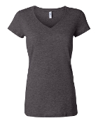 6005/6405 GIRLS/LADIES V-NECK