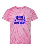 PROPERTY OF PINK TIE-DYE
