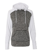8618 LADIES COSMIC SWEATSHIRT W/THUMBHOLES