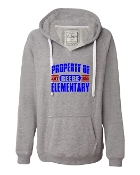 PROPERTY OF GREY V-NECK SWEATSHIRT