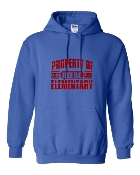PROPERTY OF ROYAL HOODIE SWEATSHIRT