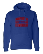 PROPERTY OF ROYAL J. AMERICA UNISEX PREMIUM SWEATSHIRT