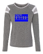 2 LINE GREY AUGUSTA FANATIC LONG SLEEVE