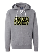 JH UNISEX LACE UP GREY SWEATSHIRT