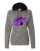 CIRCLE GREY LADIES FIT W/THUMBHOLES COSMIC SWEATSHIRT