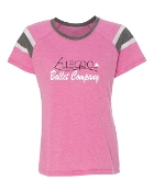 PINK AUGUSTA FANATIC SHORT SLEEVE