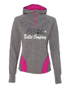 GREY/PINK AUGUSTA FREEDOM PULLOVER