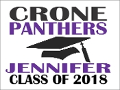CRONE GRADUATION BASIC YARD SIGN