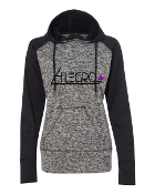 GREY LADIES COSMIC SWEATSHIRT W/THUMBHOLES