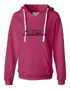PINK V-NECK SWEATSHIRT