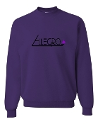 PURPLE CREW SWEATSHIRT