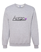 GREY CREW SWEATSHIRT