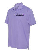 PURPLE ADIDAS POLO