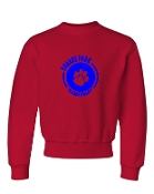CIRCLE RED CREW SWEATSHIRT