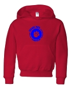 CIRCLE RED SWEATSHIRT