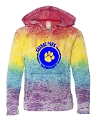 CIRCLE RAINBOW SWEATSHIRT