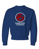 GRIZZLIES ROYAL CREW SWEATSHIRT