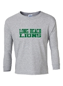 LB GREY LONG SLEEVE TEE