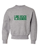 LB GREY CREW SWEATSHIRT