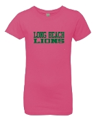 LB HOT PINK SLIM FIT CREW