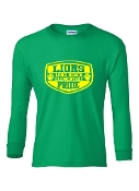 SHIELD GREEN LONG SLEEVE TEE