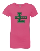 SQUARE HOT PINK SLIM FIT CREW