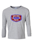 SHIELD GREY LONG SLEEVE TEE