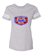 SHIELD GREY VINTAGE FOOTBALL