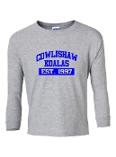 EST. GREY LONG SLEEVE TEE