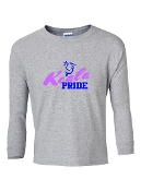 KOALA GREY LONG SLEEVE TEE