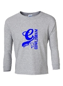 C GREY LONG SLEEVE TEE