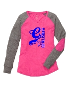 C FUCHSIA PREPPY PATCH