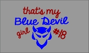 BLUE DEVIL GIRL