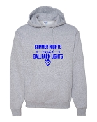 SUMMER NIGHTS GREY HOODIE SWEATSHIRT